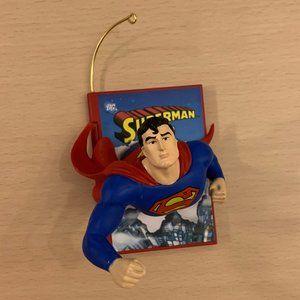 2008 DC Comics Hallmark Ornament Superman Comic